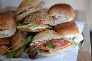 de broodjes voor de lunch
