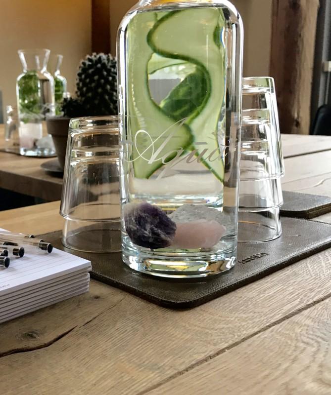 Hoe kristallen in water de kwaliteit verbetert.