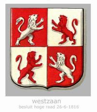 wapen van lintdorp Westzaan